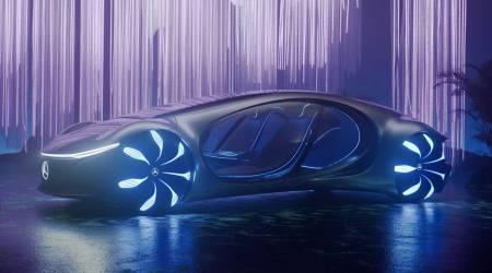 سيارة Mercedes-Benz Vision AVTR حية