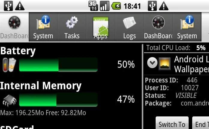 تطبيقات مفيدة لمعلومات نظام Android