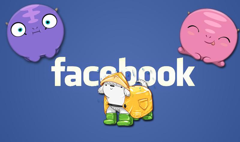 كيفية: إرسال ملصقات Facebook من جهاز الكمبيوتر أو جهاز Mac