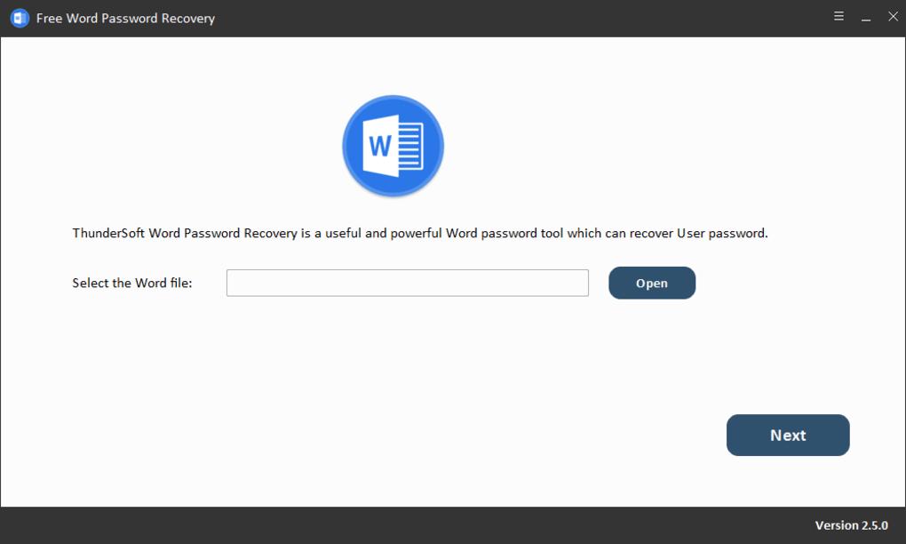 تحميل برنامج Free Word Password Recovery استرجع كلمة مرورك المفقودة