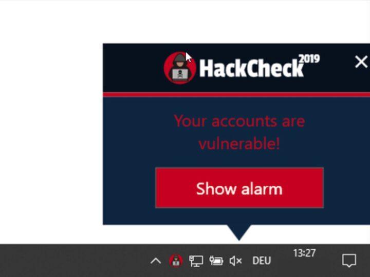 تنزيل و تحميل برنامج HackCheck تأمين أجهزة الكمبيوتر من القرصنة