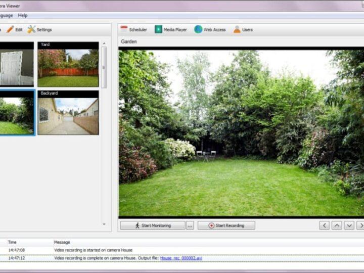 تحميل برنامج Security Camera Viewer للمراقبة بالفيديو