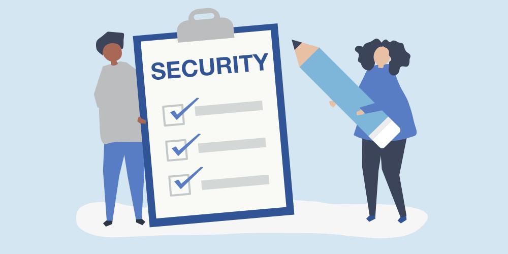 قائمة تدقيق أمان بسيطة لمواقع WordPress