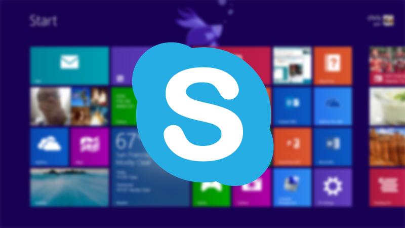 سيتم تضمين Skype في Windows 8.1 ليحل محل تطبيق المراسلة الحالي