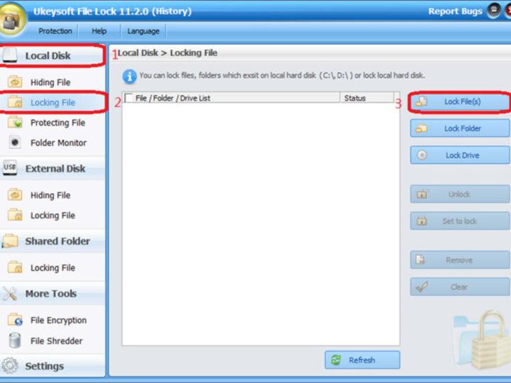 تحميل و تنزيل برنامج UkeySoft File Lock إخفاء أو قفل الملفات والمجلدات