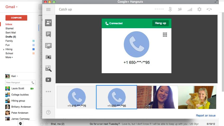 يمكنك الآن إجراء مكالمات باستخدام Google Hangouts