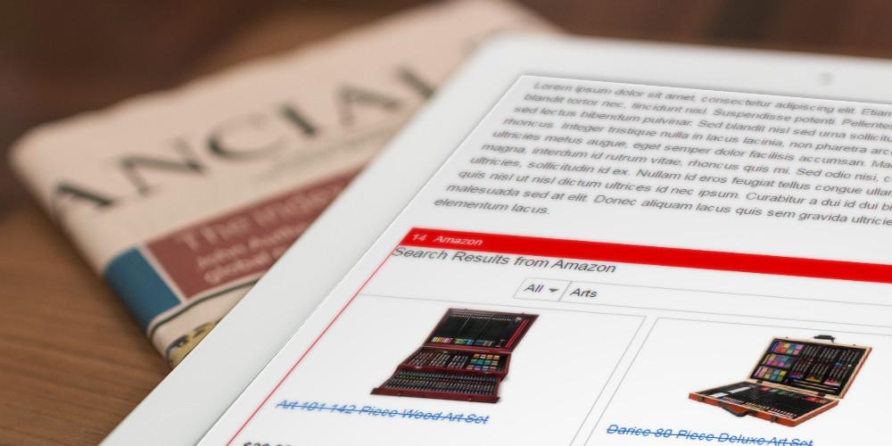 كيفية إضافة إعلانات المحتوى المضمنة إلى WordPress