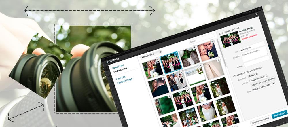 دليل لأحجام اقتصاص صور WordPress