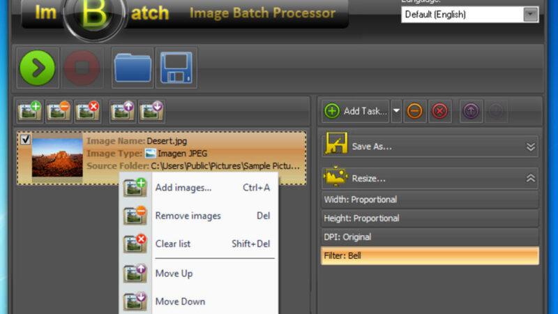 تحميل او تنزيل برنامج ImBatch معالجة مجموعات من الصور دفعة واحدة