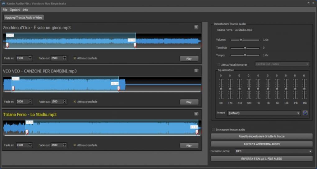 تحميل او تنزيل برنامج Kanto Audio Mix نسخ من الأغاني بأغاني