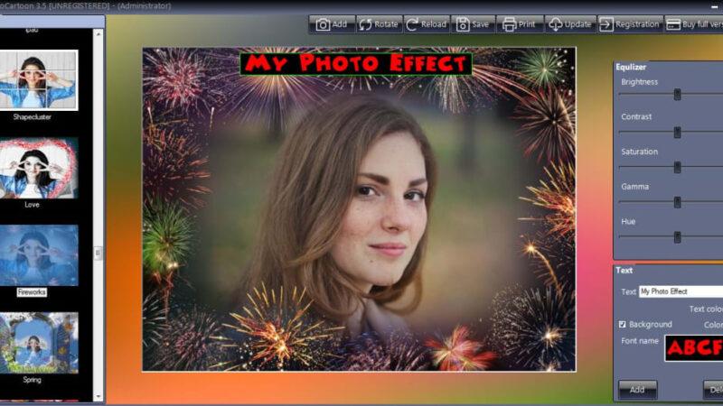 تحميل او تنزيل برنامج Photo Cartoon Software رسوم متحركة ورسومات عالية الدقة