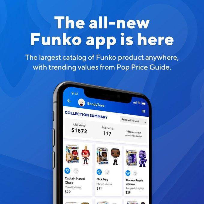 مراجعة تطبيق Funko ونداء Funko Pop! الأرقام