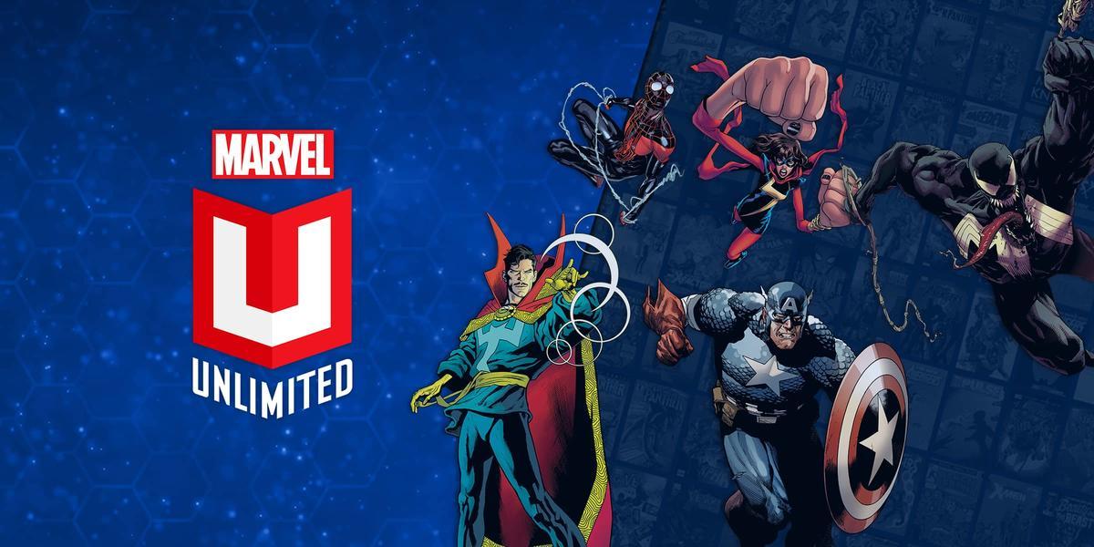Marvel Unlimited: قراءة القصص المصورة عبر الإنترنت أو غير متصل