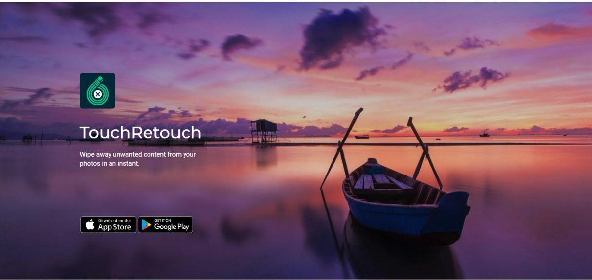 مراجعة تطبيق TouchRetouch: قم بتحرير صورك دون عناء