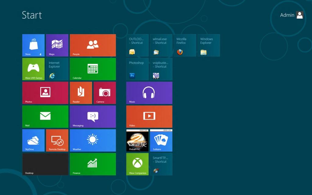 الميزات الجديدة في Windows 8